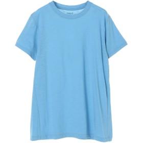 Vince Vince[ヴィンス] コットンスラブ スウィングTシャツ Tシャツ・カットソー,ブルー