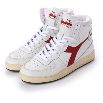 ディアドラ Diadora MI BASKET USED (WHITE/GARNET)