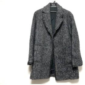 【中古】 セオリーリュクス コート サイズ38 M レディース グレー ライトグレー ベージュ 冬物/ツイード