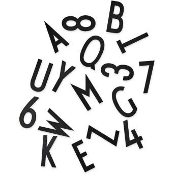 Arne Jacobsen メッセージボード レター&ナンバー Large ブラック