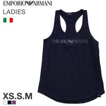 EMPORIO ARMANI LOGO LOVER Tバックタンクトップ