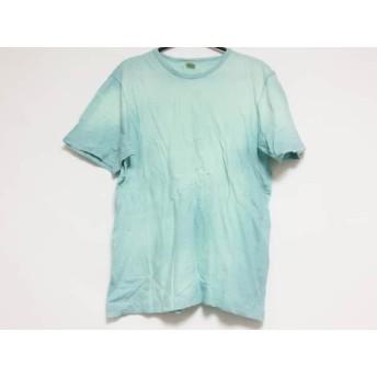 【中古】 ロンハーマン Ron Herman 半袖Tシャツ サイズL メンズ ライトブルー
