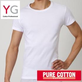 GUNZE グンゼ YG(ワイジー) クルーネックTシャツ(メンズ)【まとめ買い対象】 ホワイト LL