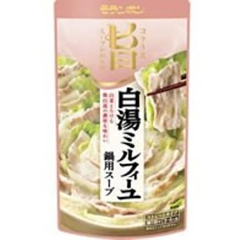 モランボン/白湯ミルフィーユ鍋用スープ 750g/60203240