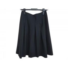【中古】 セオリー theory スカート サイズ2 S レディース 黒 サンプル品