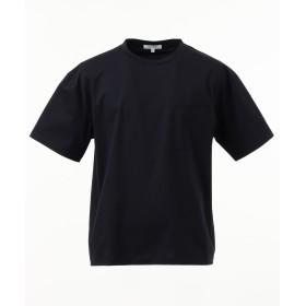 【オンワード】 Field Dream Men(フィールド ドリーム メン) 【新ライン】バインダートリコットクルーネック Tシャツ ネイビー 4 メンズ 【送料無料】