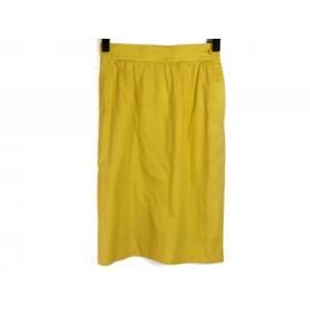 【中古】 イヴサンローラン YvesSaintLaurent スカート サイズM レディース イエロー