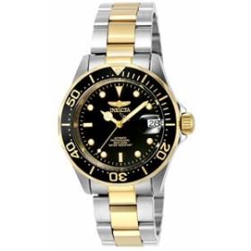 インヴィクタ男性の8927個のプロのダイバーのコレクションの自動巻きの時計、金トーン/ブラック