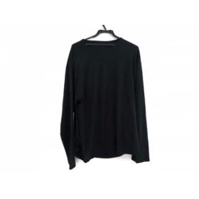 【中古】 グラウンド ワイ Ground Y 長袖Tシャツ サイズ3 L メンズ 黒