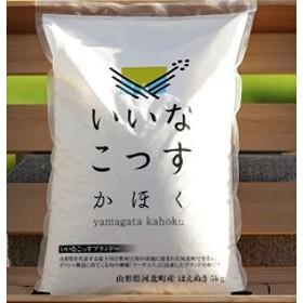 【2020年2月発送分】山形県河北町産はえぬき15kg(5kg×3袋)【米comeかほく協同組合】