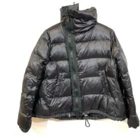 【中古】 サカイラック sacai luck ダウンコート サイズ2 M レディース 黒 冬物
