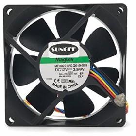・mf80201vx-q010-s998020冷却ファン12V 3.84W 808020MM 4ワイヤ5pin 725y7 パソコン周辺機器
