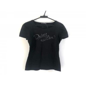 【中古】 フォクシーニューヨーク FOXEY NEW YORK 半袖Tシャツ サイズ40 M レディース 黒