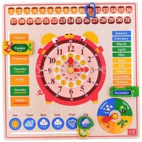 F Fityle 教室 幼稚園 おもちゃ 時間 天気 季節 カレンダー 日付 平日 教育玩具
