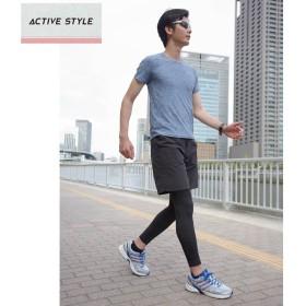 GUNZE グンゼ ACTIVE STYLE(アクティブ スタイル) Tシャツ(メンズ)【SALE】 ジーンズブルー LL