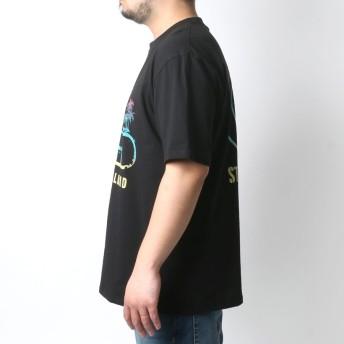 Tシャツ - MARUKAWA T & C Tシャツ 大きいサイズ メンズ 夏 半袖 プリント ブラック/サックス/ブルー/ネイビー2L/3L/4L/5L/6L【ブランド サーフ】