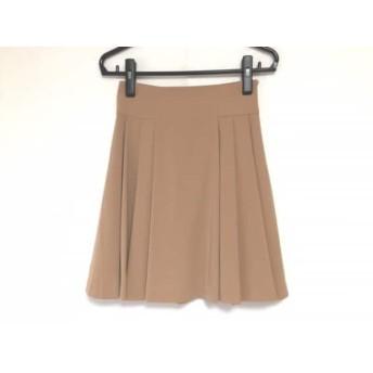 【中古】 エリザ ELISA スカート サイズ1 S レディース ブラウン