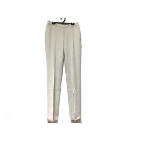 【中古】 ラ・エフ la.f. パンツ サイズ2 S レディース 美品 グレージュ