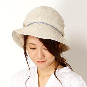 [マルイ]【セール】【サイズ調整OK】手洗いできるリネンブレード UV小つばハット/フルラ(ネックウェア・帽子)(FURLA)
