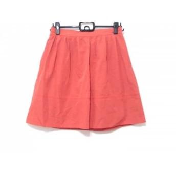 【中古】 エストネーション ESTNATION ミニスカート サイズ38 M レディース オレンジ