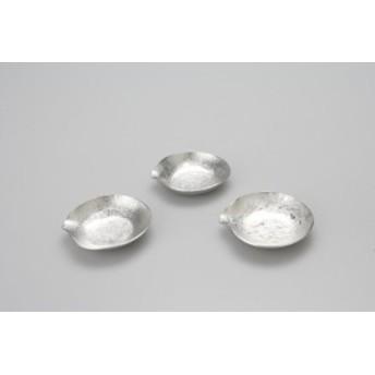 すずまめ 氷割 /能作 のうさく 錫製 鋳物 伝統工芸 / 銀色 シルバー / おしゃれ かわいい 雰囲気 アクセント / 塩皿 小皿 豆皿