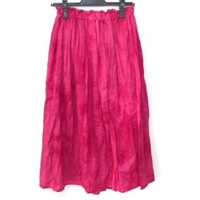 【中古】 アイアムアイインファクト I am I in fact. ロングスカート サイズF レディース ピンク