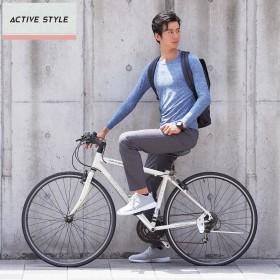 GUNZE グンゼ ACTIVE STYLE(アクティブ スタイル) ロングスリーブTシャツ(メンズ)【SALE】 ブラック M