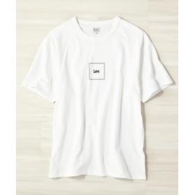 Lee ボックスロゴTシャツ ホワイト