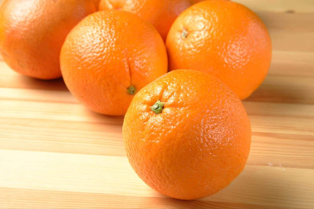 複数のオレンジ