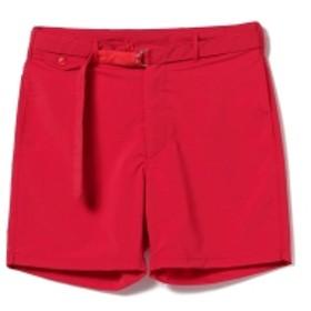 ENGINEERED GARMENTS × BEAMS PLUS / 別注 ビーチショーツ メンズ カジュアルパンツ RED XS
