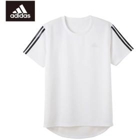 GUNZE グンゼ adidas(アディダス) インナーTシャツ(メンズ)【SALE】 レッド M
