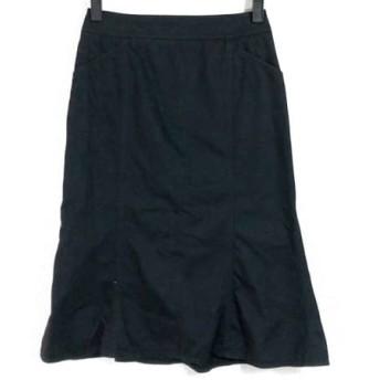 【中古】 バーバリーロンドン Burberry LONDON スカート サイズ36 M レディース 黒