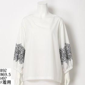 [マルイ]【セール】【大きいサイズ】袖刺繍ブラウス/アルディラ(AL・DI・LA)