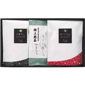 芳翠園・銘茶・豆菓子セット お茶