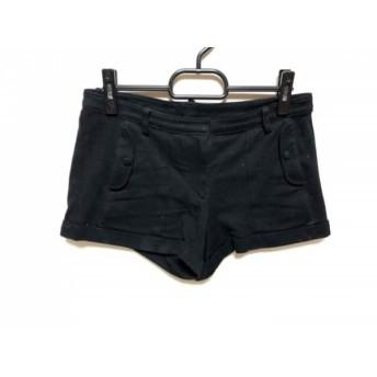 【中古】 メゾン ド リーファー Maison de Reefur ショートパンツ サイズ36 S レディース 黒