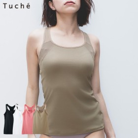 GUNZE グンゼ Tuche(トゥシェ) カップ付キャミソール(レディース) オフピンク L