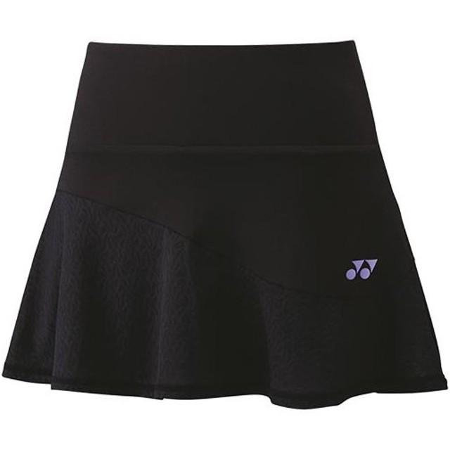 f56d3ad7c9004 ヨネックス(YONEX) レディース テニスウェア スカート インナースパッツ付 ブラック 26049 007 テニス バドミントン