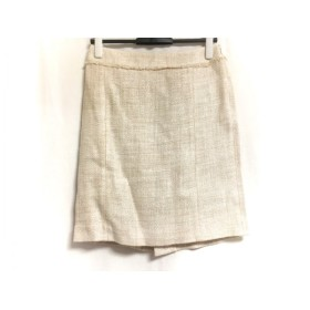 【中古】 ジユウク 自由区/jiyuku スカート サイズ38 M レディース アイボリー