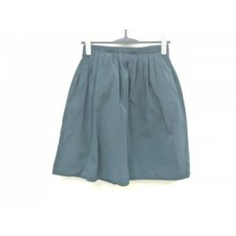 【中古】 エストネーション ESTNATION スカート サイズ38 M レディース ダークグリーン