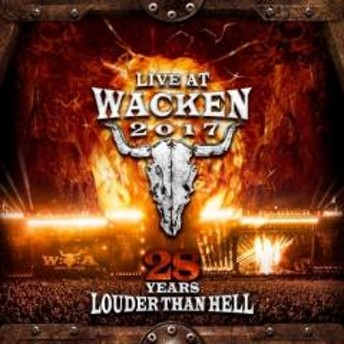 オムニバス(コンピレーション) / Live At Wacken 2017: 28 Years Louder Than Hell (2CD+2DVD)【CD】