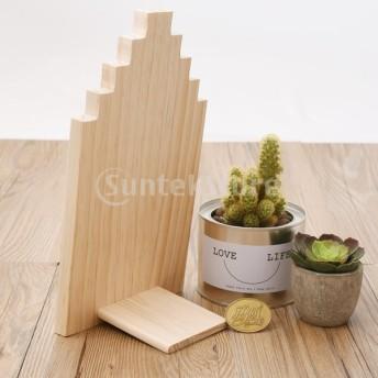 木製ジュエリー棚 ジュエリーディスプレイスホルダー 木製ジュエリーラック ジュエリー棚 ナチュラルな