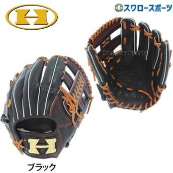 あすつく 送料無料 ハイゴールド HI-GOLD 限定 硬式グローブ グラブ 内野手用 一般・少年兼用 NPG-805K 野球部 硬式野球 部活 少年野球 野球用品 スワロース