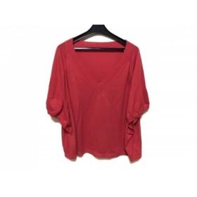 【中古】 アドーア ADORE セーター サイズ38 M レディース レッド ニット