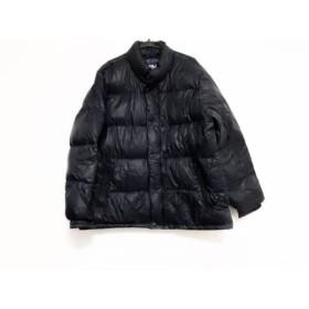 【中古】 アメリカンイーグル American Eagle ダウンジャケット サイズXL メンズ ダークネイビー 冬物