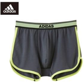 GUNZE グンゼ adidas(アディダス) ボクサーパンツ(前とじ)(メンズ) ブラック L