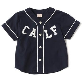 [マルイ]【セール】ベースボールユニフォームシャツ/プティマイン(petit main)