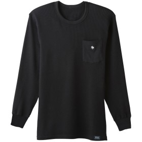 GUNZE グンゼ POLO BCS ロングスリーブシャツ(丸首)(メンズ)【SALE】 ホワイト M