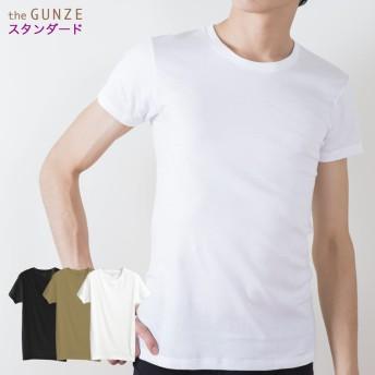 GUNZE グンゼ the GUNZE(ザグンゼ) 【STANDARD】クルーネックTシャツ(丸首)(メンズ)【まとめ買い対象】 スキンベージュ L