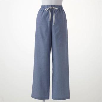 【レディース】 パンツ(綿100%) ■カラー:スカイブルー ■サイズ:5L