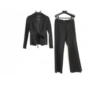 【中古】 エムプルミエ M-PREMIER レディースパンツスーツ サイズ38 M レディース 黒